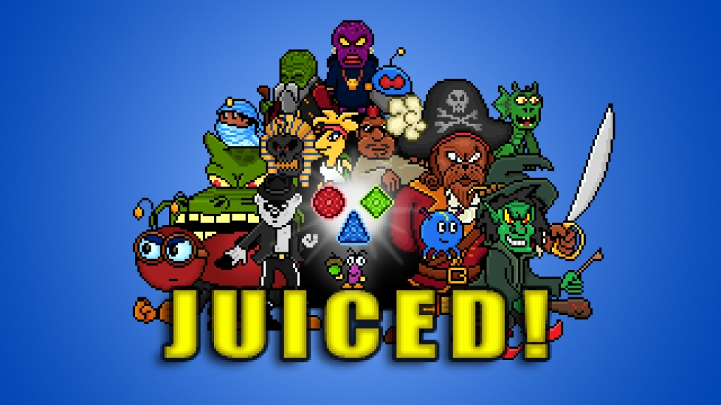 Juiced! video game cover art