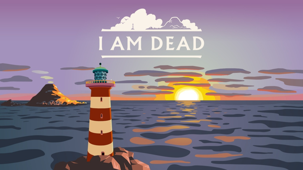 I Am Dead video game cover art
